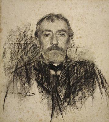Portrait Of Henry Lerolle Art Print