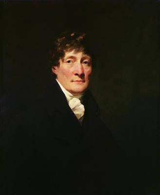 Cravat Photograph - Portrait Of Henry Mackenzie 1745-1831 C.1810 Oil On Canvas by Sir Henry Raeburn