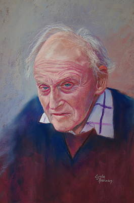 Painting - Portrait Of Hubert Miller by Lynda Robinson