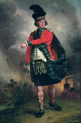 Portrait Of Hugh Montgomerie, 12th Earl Of Eglinton 1739-1819 C.1780 Oil On Canvas Art Print