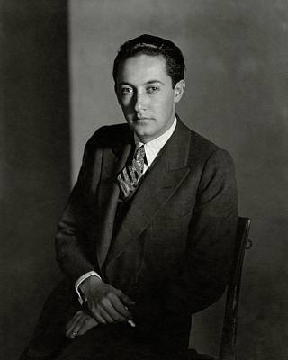 Portrait Of Irving Thalberg Art Print