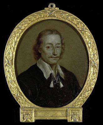 Portrait Of Jacob Jacobsz Steendam, Poet And Historian Art Print by Litz Collection