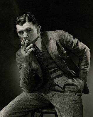 Portrait Of James J. Braddock Art Print by Edward Steichen