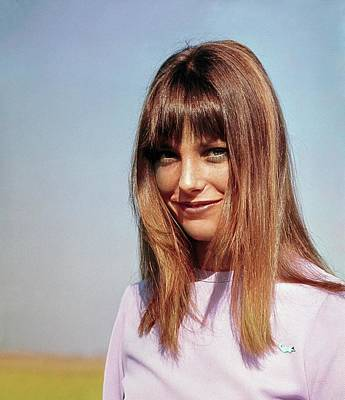 Actress Photograph - Portrait Of Jane Birkin by John Cowan