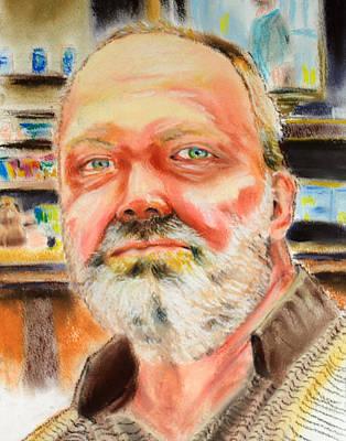 Portrait Of Jay Wubbolding Original by J Val