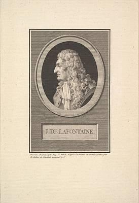 Portrait Of Jean De La Fontaine Art Print