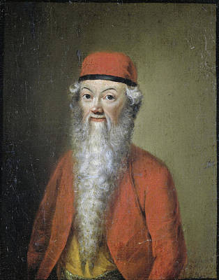 Self-portrait Drawing - Portrait Of Jean-Étienne Liotard At Approximately 54 Years by Litz Collection