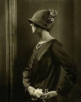Photograph - Portrait Of Joan Clement by Edward Steichen