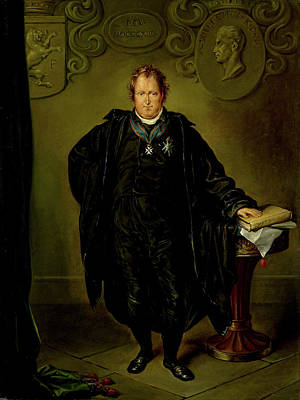 Pi Drawing - Portrait Of Johan Melchior Kemper, Lawyer And Statesman by Litz Collection