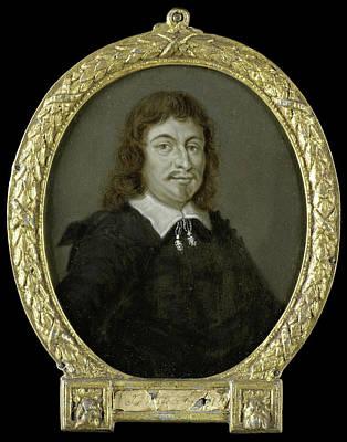 Van Halen Drawing - Portrait Of Johan Van Nijenborgh, Poet In Groningen by Litz Collection