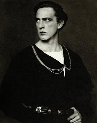 Portrait Of John Barrymore Art Print