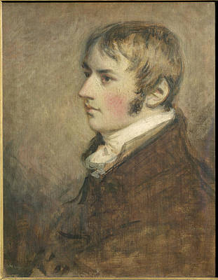 Portrait Of John Constable Aged Twenty Art Print by Daniel Gardner