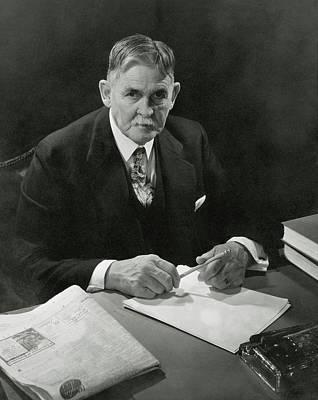 Amateurs Photograph - Portrait Of John F. Condon by Edward Steichen