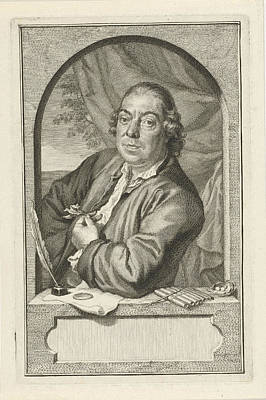 Portrait Of John Le Francq Of Berkhey, Jacob Houbraken Print by Jacob Houbraken And Hendrik Pothoven
