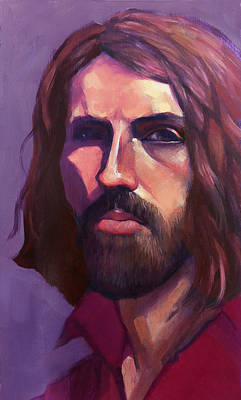 Painting - Portrait Of Joseph by Roz McQuillan