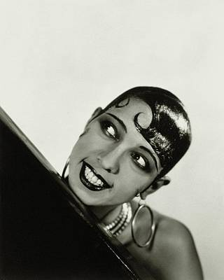 African-american Photograph - Portrait Of Josephine Baker by George Hoyningen-Huene