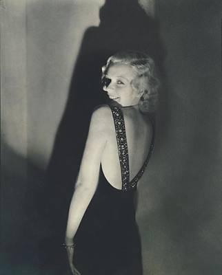 Portrait Of June Maccloy Art Print