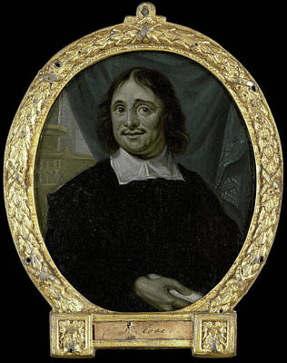 Van Halen Drawing - Portrait Of Karel Verloove, Poet In Amsterdam by Litz Collection