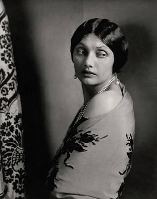 Katharine Photograph - Portrait Of Katharine Cornell by Edward Steichen