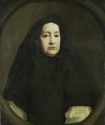 Queen Mary Drawing - Portrait Of Katharine Elliot Died 1688 by Litz Collection