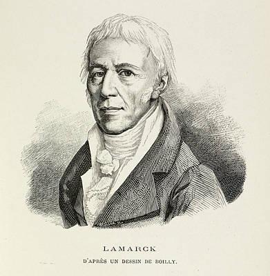 Portrait Of Lamarck Art Print