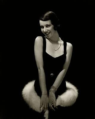 Necklace Photograph - Portrait Of Lily Pons by Edward Steichen