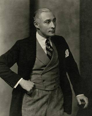 Portrait Of Lionel Atwill In Costume Art Print by Nickolas Muray