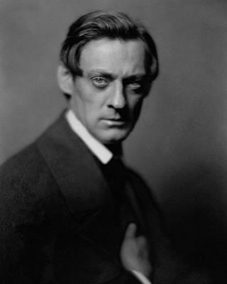 Portrait Of Lionel Barrymore Art Print by Collota