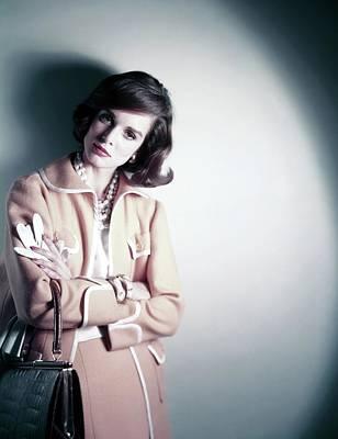 Lucille Photograph - Portrait Of Lisa Bigelow by Horst P. Horst