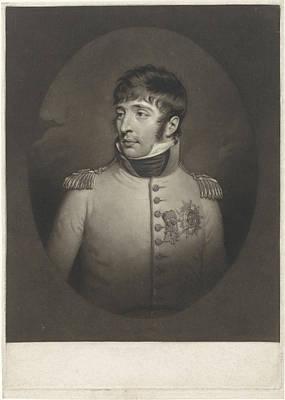 Portrait Of Louis Napoleon Bonaparte Known As Lodewijk Art Print