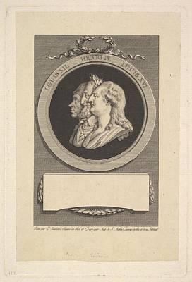 Portrait Of Louis Xvi, Henri Iv Art Print
