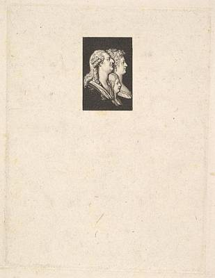 Portrait Of Louis Xvi, Marie Antoinette Art Print