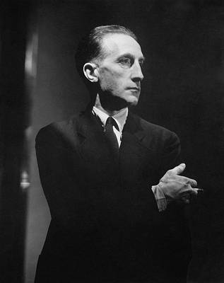 Portrait Of Marcel Duchamp Print by Lusha Nelson