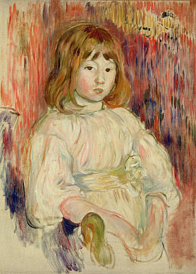 Impressionist Photograph - Portrait Of Marcelle, 1895 Oil On Canvas by Berthe Morisot