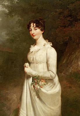 Portrait Of Marcia. B. Fox Oil On Canvas Detail Of 272237 Art Print by Sir William Beechey