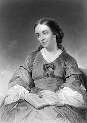 Famous Book Photograph - Portrait Of Margaret Fuller by Underwood Archives