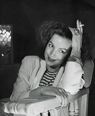 April 30 Photograph - Portrait Of Maria Felix by Horst P. Horst