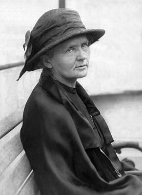 1923 Photograph - Portrait Of Marie Curie by Underwood Archives
