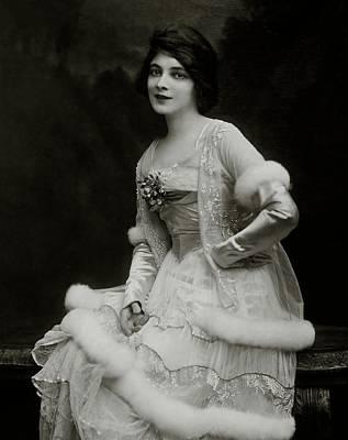 April 30 Photograph - Portrait Of Marie Doro by Ira L. Hill