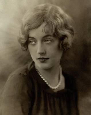 Davis Photograph - Portrait Of Marion Davies by Irving Chidnoff