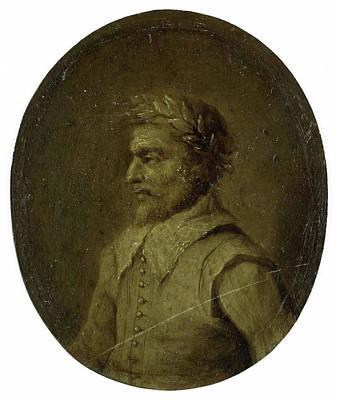 Portrait Of Matheus De Casteleyn, Priest And Rhetorician Art Print by Litz Collection