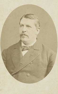 Portrait Of Medical Professor J.p Art Print