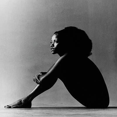 Sitting Photograph - Portrait Of Melba Moore by Jack Robinson