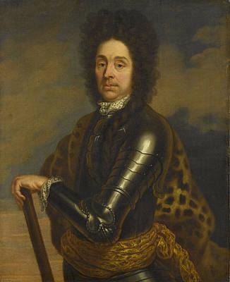 Portrait Of Menno Van Coehoorn 1641-1704 Art Print