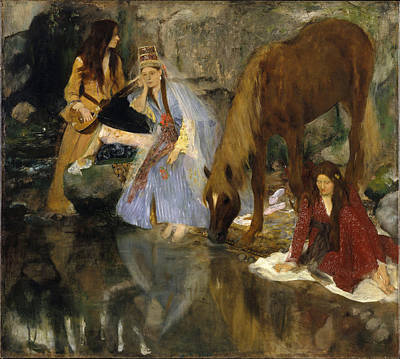 Ballet Painting - Portrait Of Mlle Fiocre In The Ballet La Source by Edgar Degas