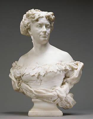 Portrait Of Nadine Dumas Madame Alexandre Dumas Fils 1827 - Art Print by Litz Collection