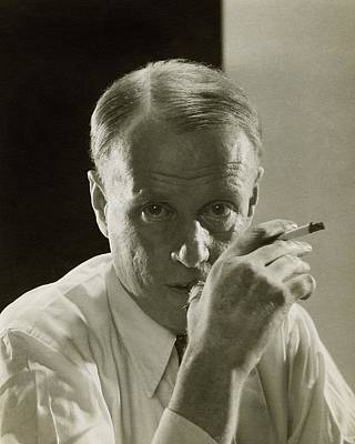 Photograph - Portrait Of Novelist Sinclair Lewis by Edward Steichen