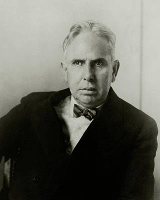 Portrait Of Novelist Theodore Dreiser Art Print by Charles Sheeler