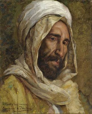 Religious Painting - Portrait Of Osman Hamdy Bey by Celestial Images
