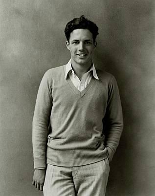 Davis Photograph - Portrait Of Owen Davis Jr by Florence Vandamm